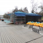 PSCC Austin Rowing Dock pedal boats and dock March 2014